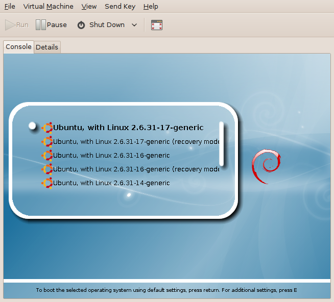 Screenshot-grubtest Virtual Machine-1