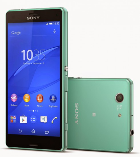 Sony Xperia Z3 Compact press shot from Sony Xperia Picasa album. CC BY-NC-SA 3.0